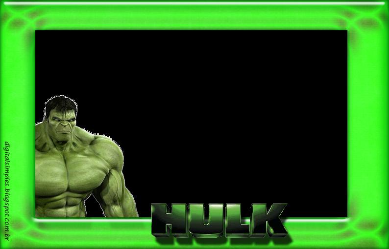 Hulk clipart happy. Moldura verde png c