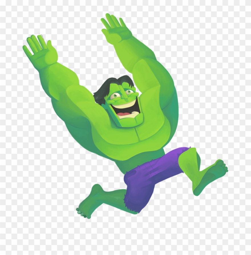 Png download . Hulk clipart happy