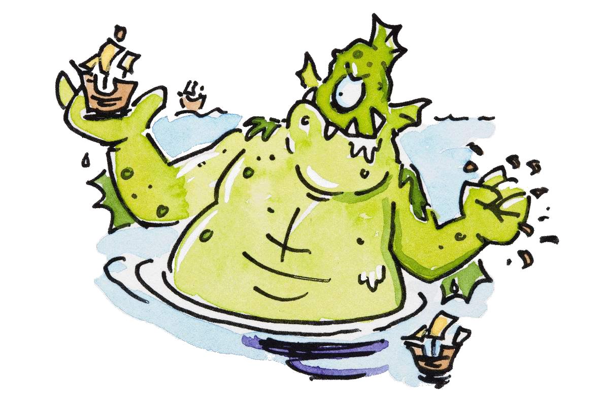 Hulk clipart old cartoon. Sea monster ocean transprent