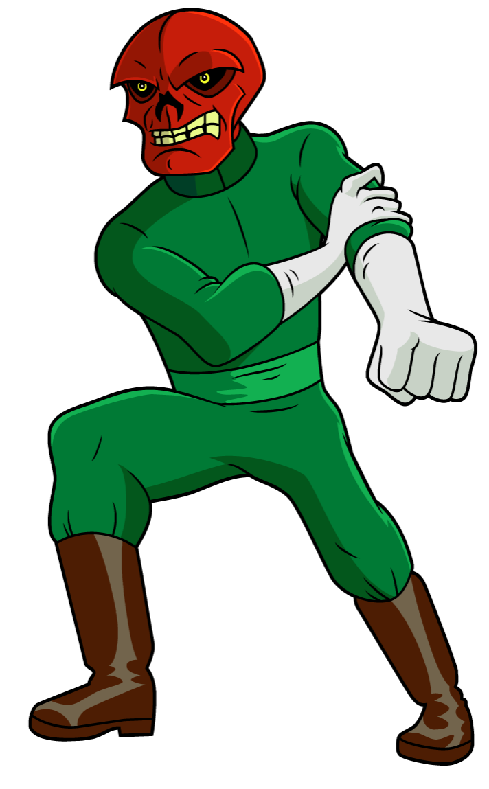Image marvel red skull. Hulk clipart phineas and ferb