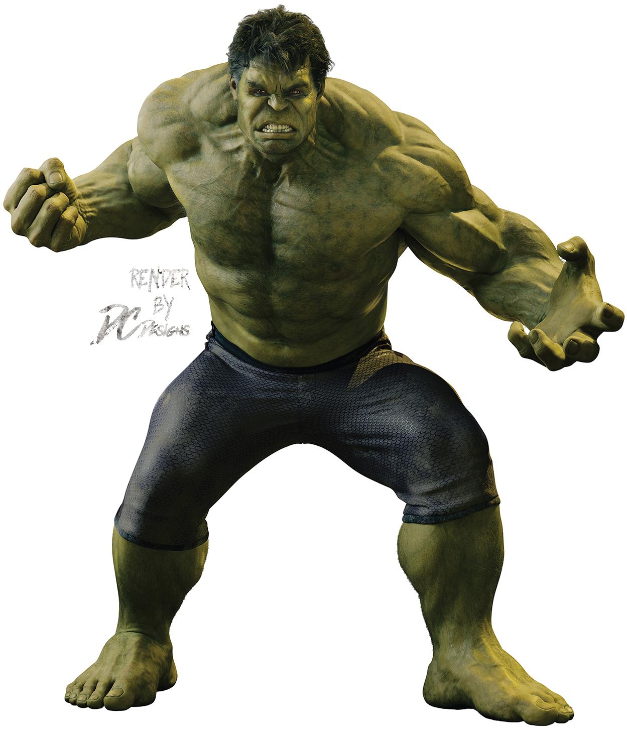Hulk clipart renders. Render by dc designs