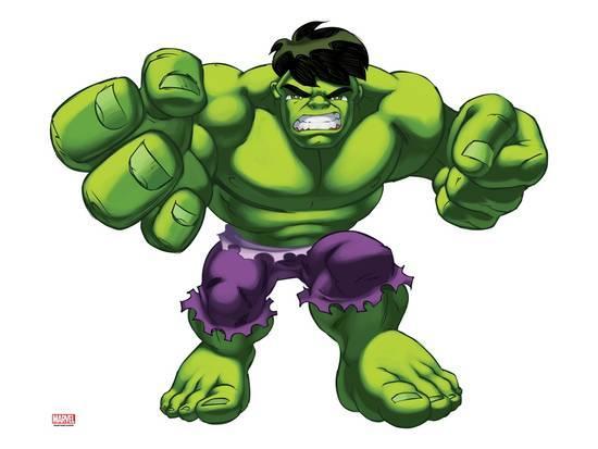 Hulk clipart superhero squad. Imagenes super hero marvel