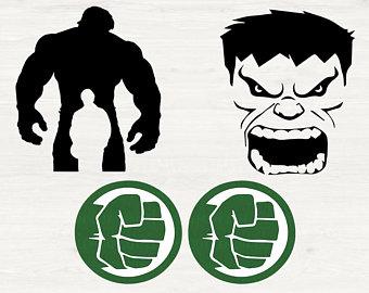 Etsy . Hulk clipart svg