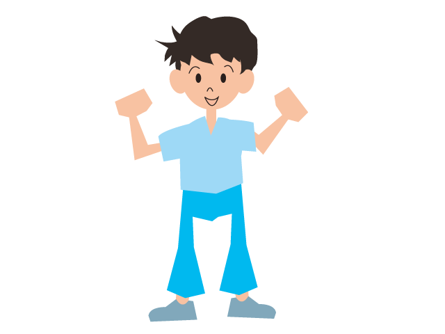 Guts pose male free. Human clipart 7 person