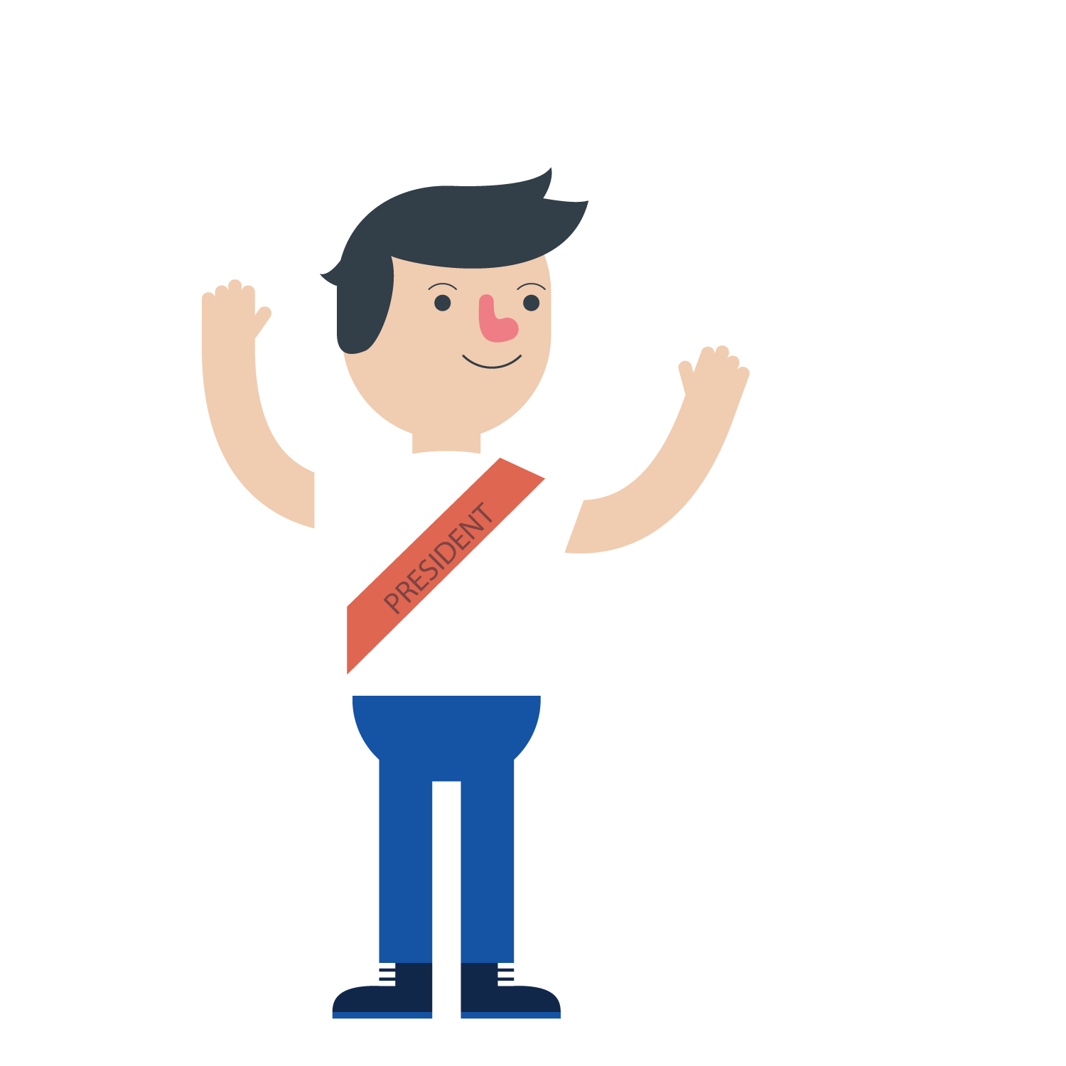 Human clipart college student. Cartoon estudante welcome students