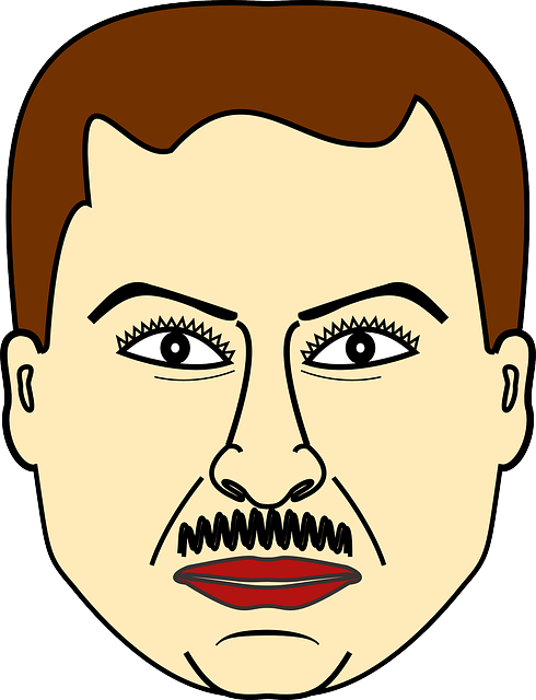 Human clipart face. Old man guy male