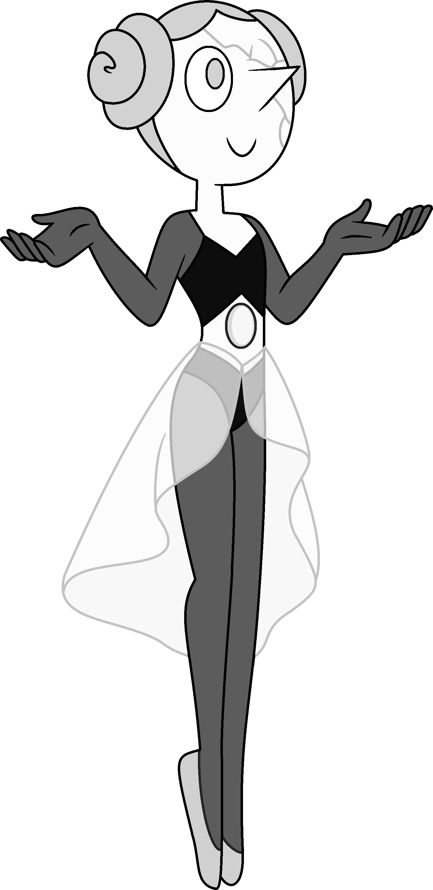 Human clipart human action. White pearl steven universe