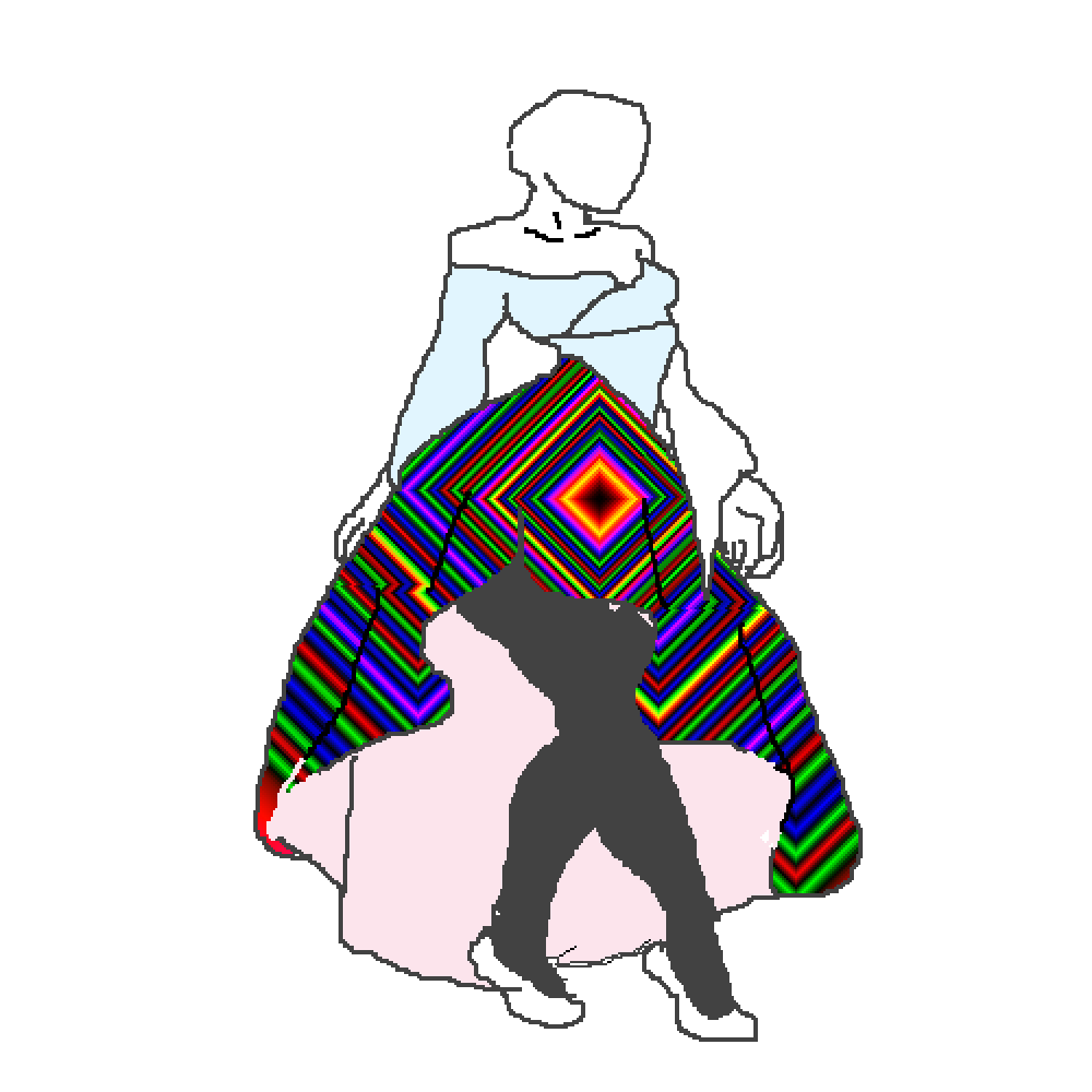 Pixilart dress base by. Human clipart human action
