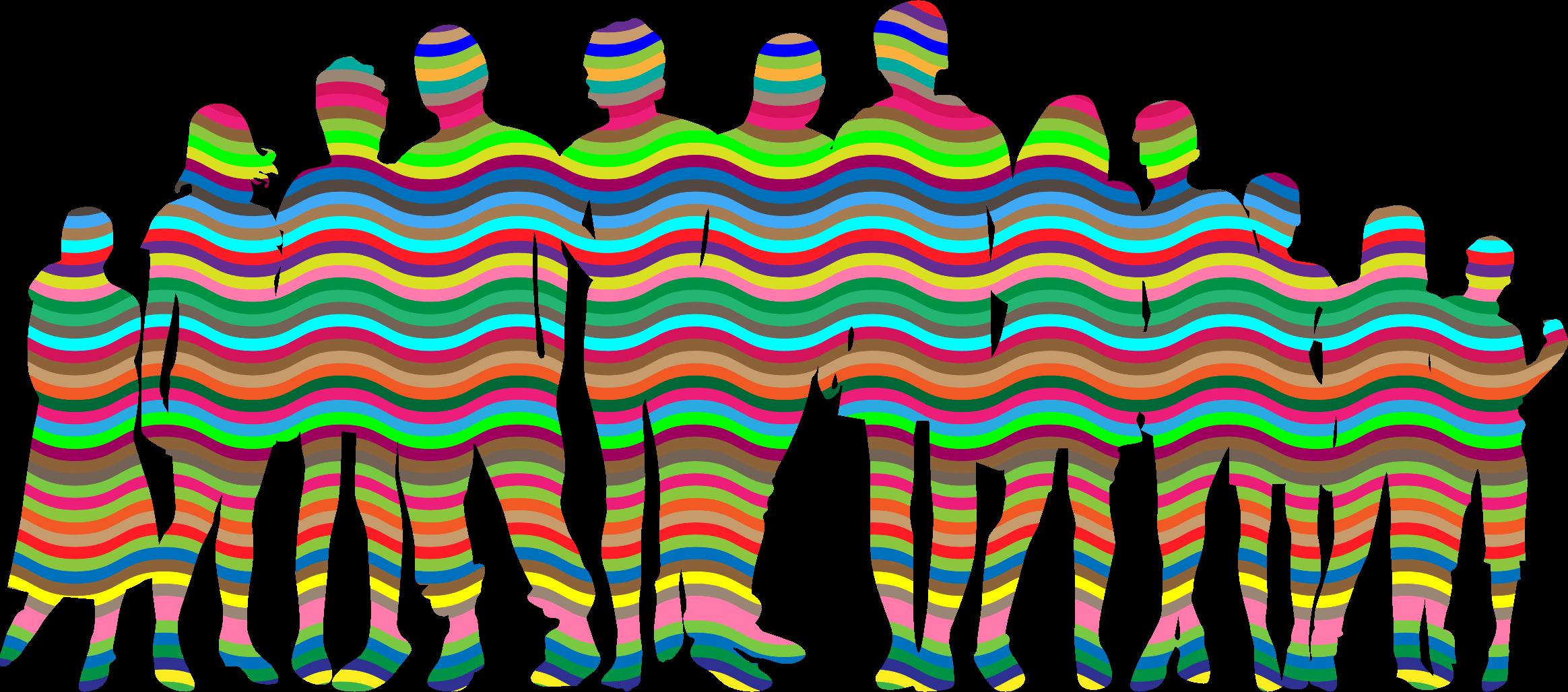 Human clipart human family. Prismatic waves big image