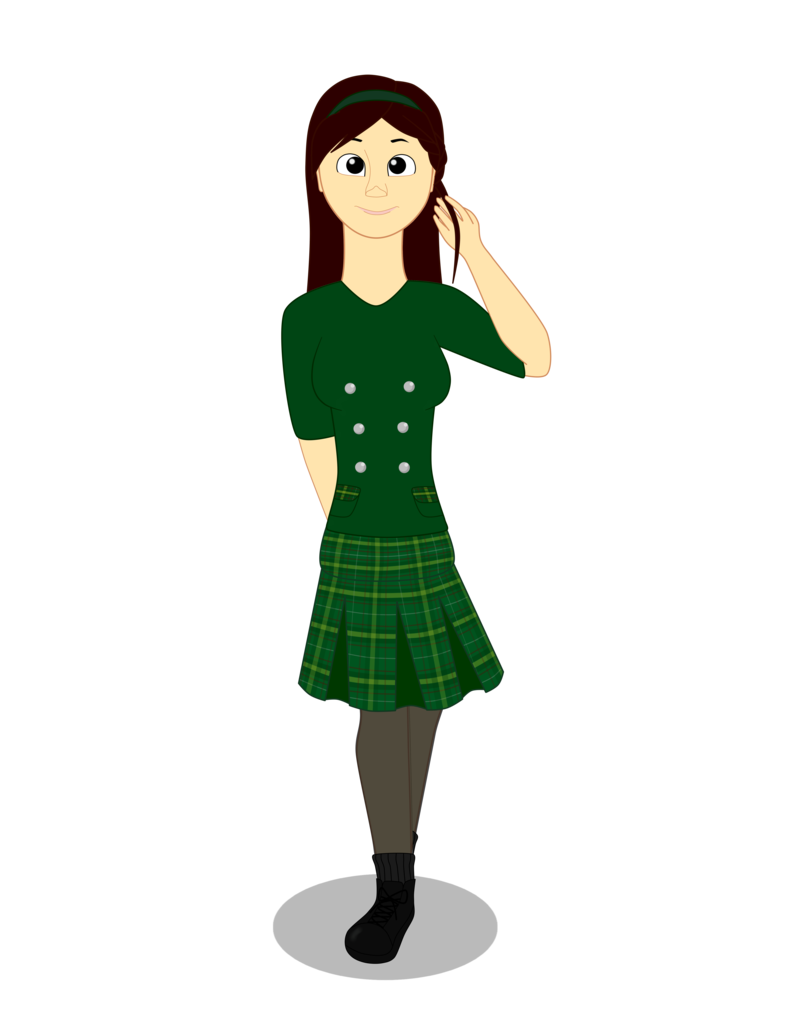 Humans clipart college friend. Human emily by maddgirlz