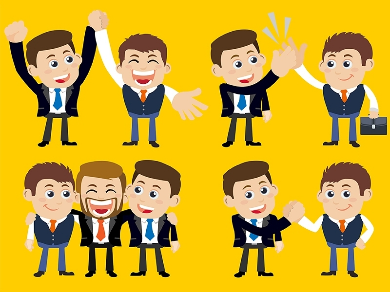 Relations in business knowledgecity. Human clipart human relation