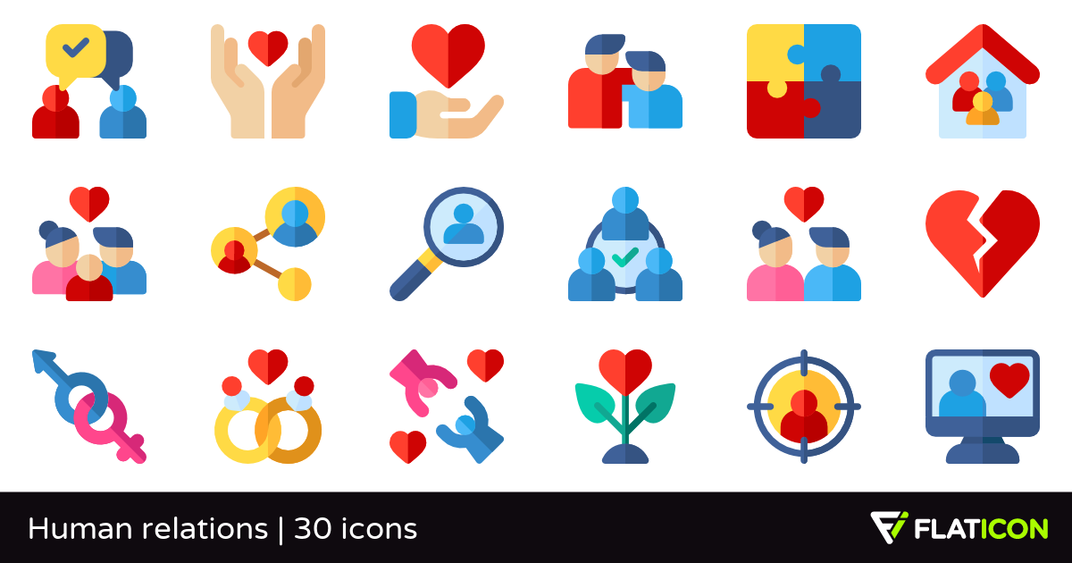 Human clipart human relation. Relations free icons svg