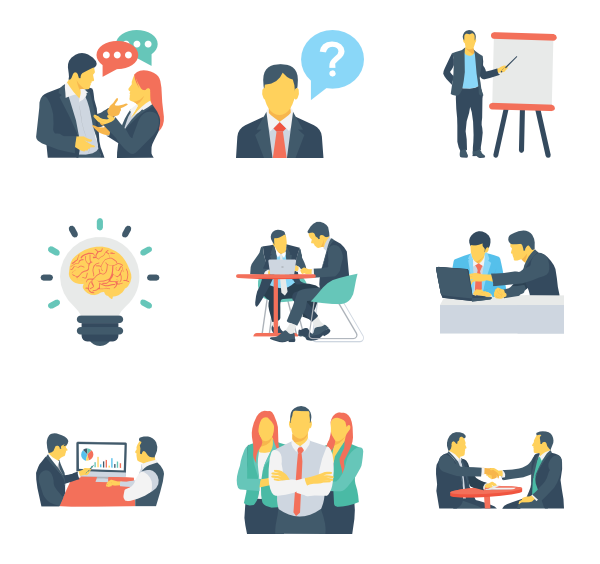 Computer icons resources management. Working clipart human resource