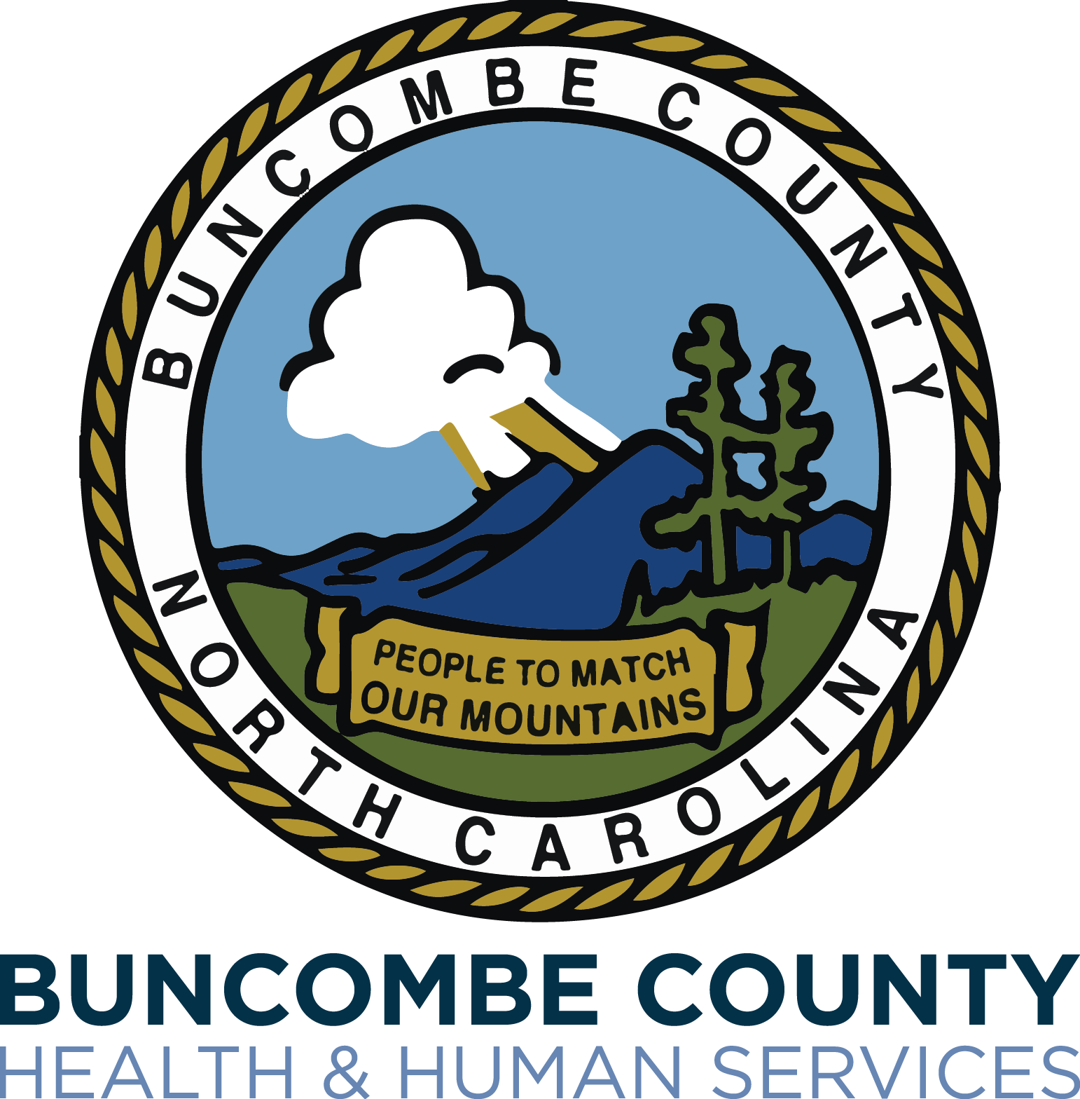 Buncombe county health services. Human clipart human service
