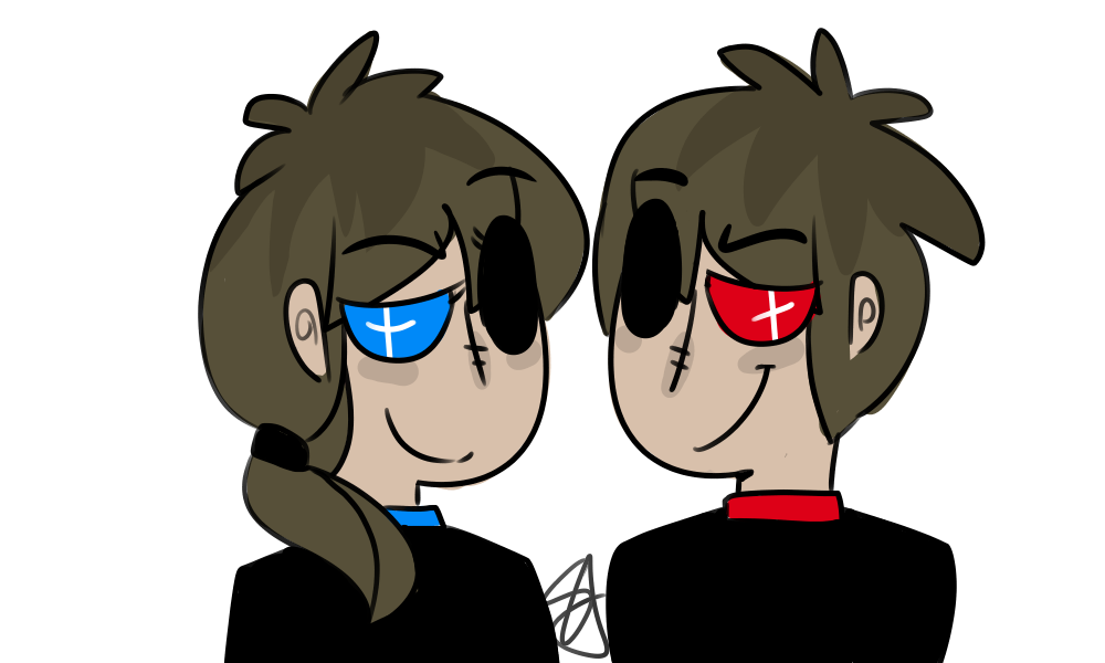 Twins by spirutts on. Human clipart human shadow
