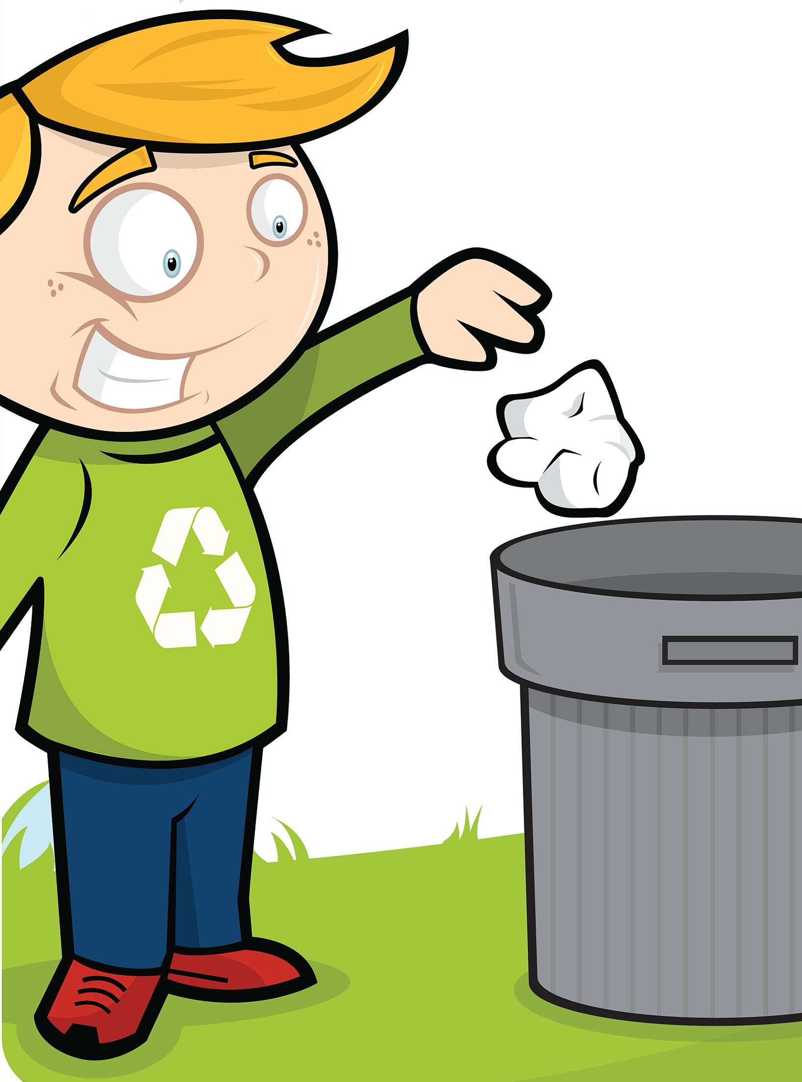 Human clipart human waste. Cleanliness child throwing trash