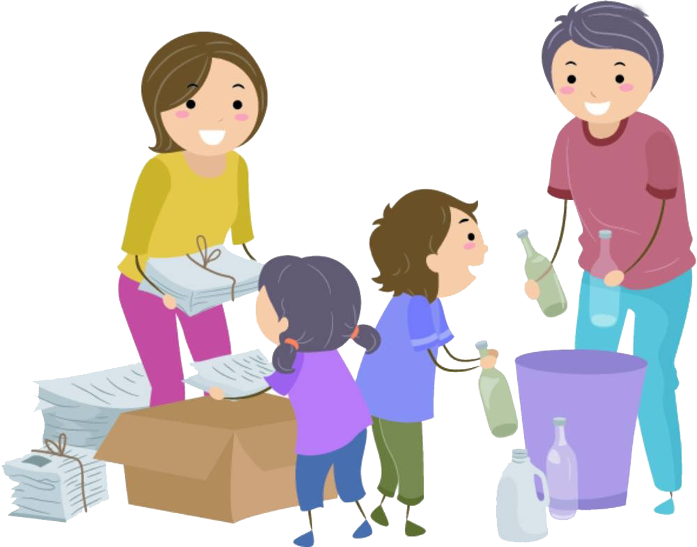 Sorting management container clip. Human clipart human waste