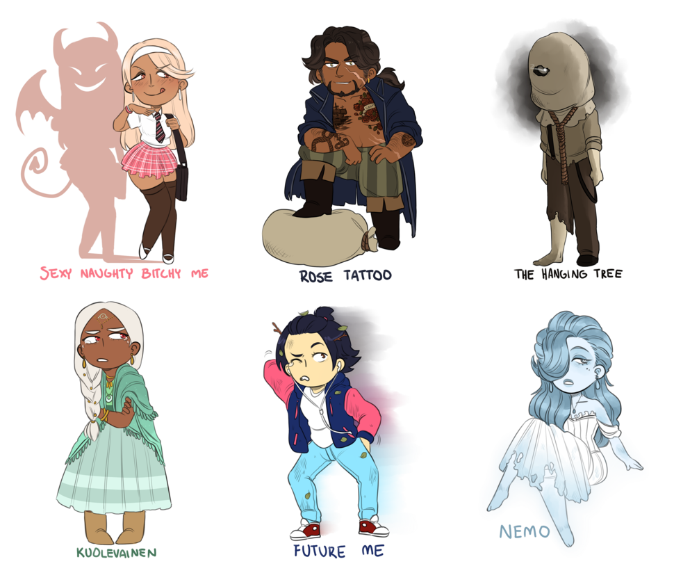 Human clipart inhabitant. Song themed adopts by