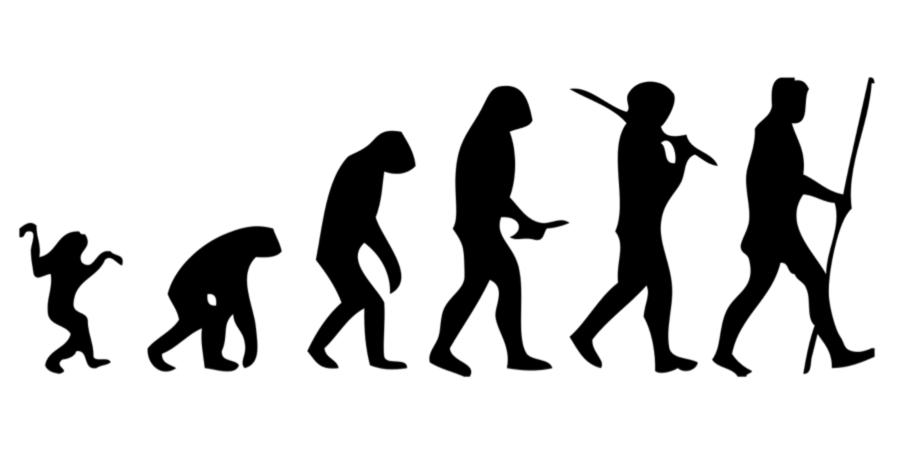 Humans clipart neanderthal man. Line logo human black