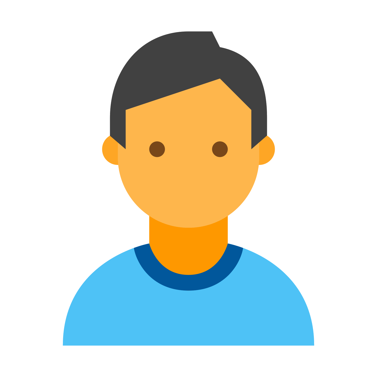 Person icon png. Free download and vector