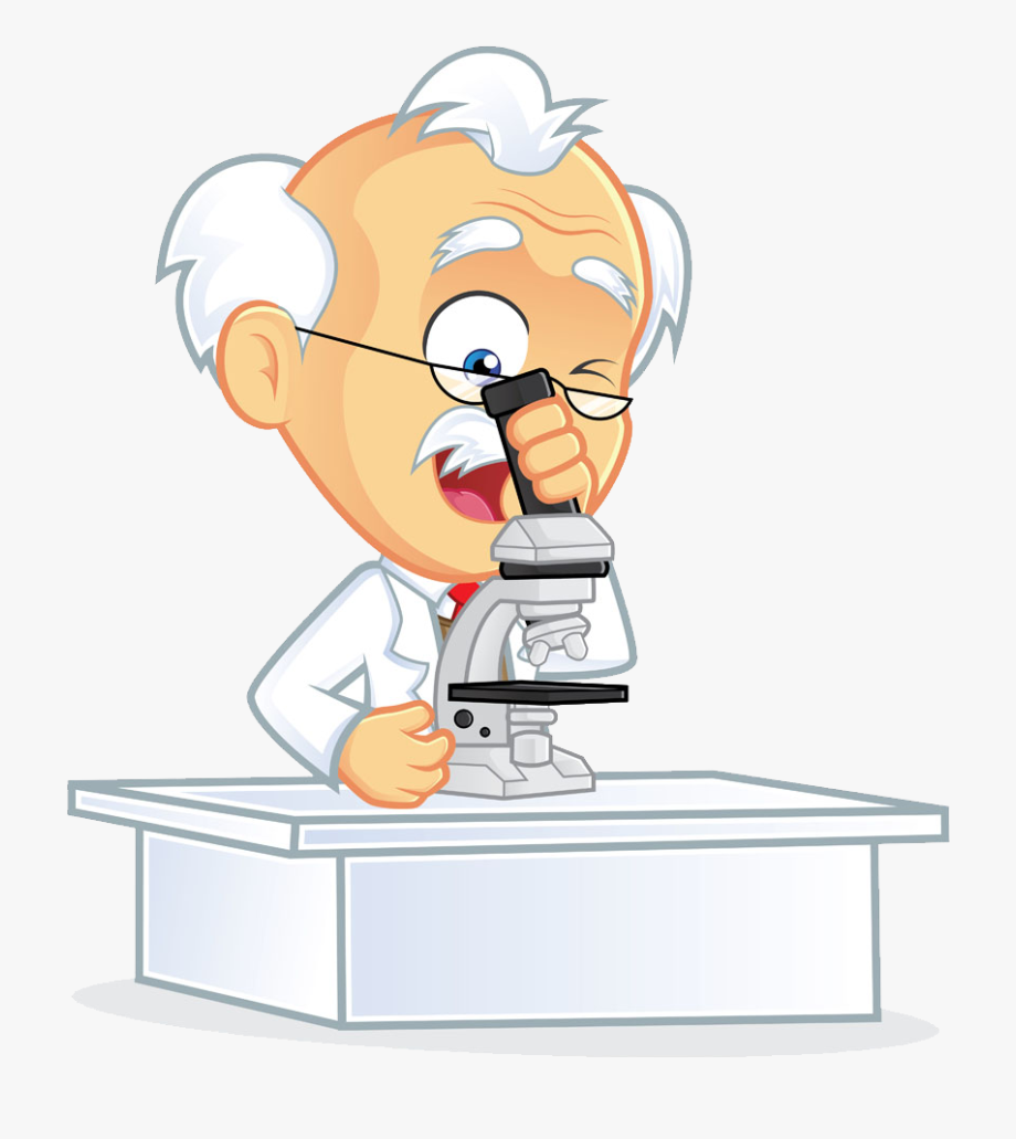 Scientist with . Humans clipart scientific observation