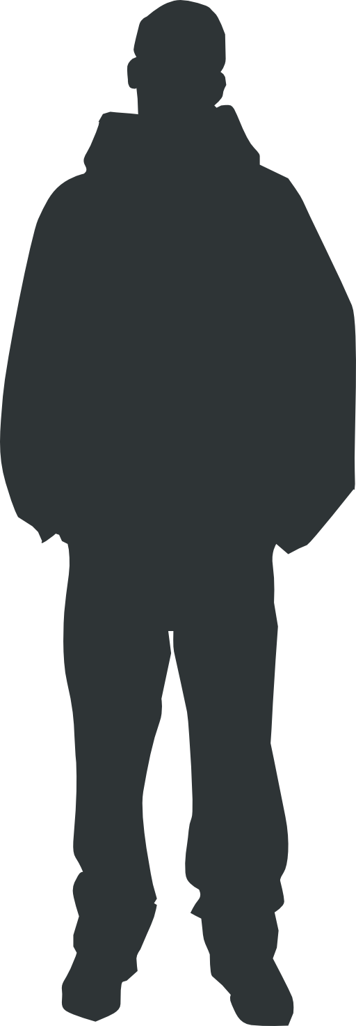 Human clipart svg. Person outline i royalty