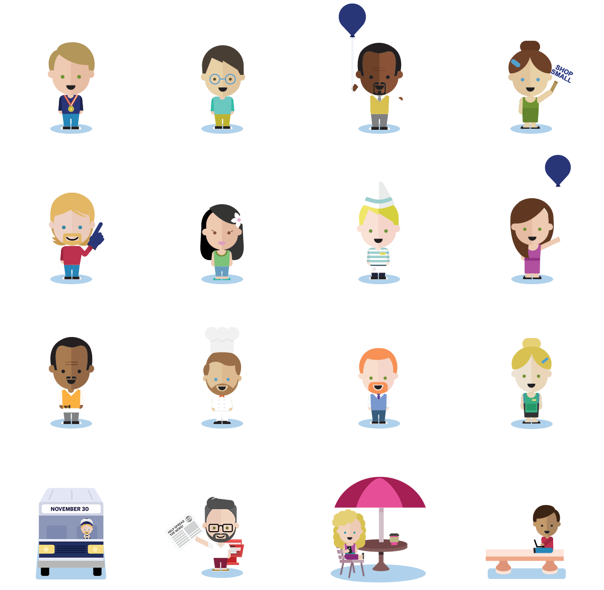 Human clipart top view. Characters