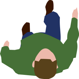 Human clipart top view. File walking person svg