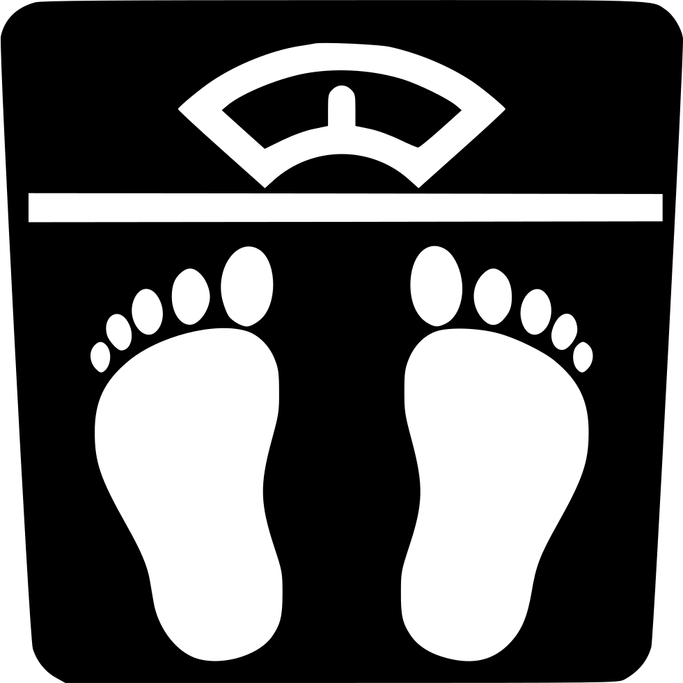 Humans clipart weighing machine. Svg png icon free