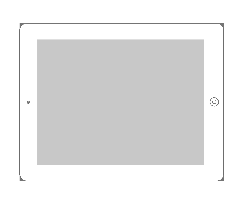 White clipart ipad. Free apple products minimal
