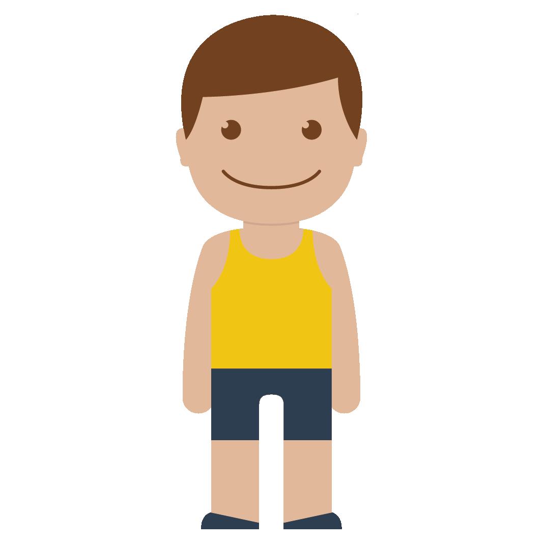 Human clipart yellow. Person child boy man