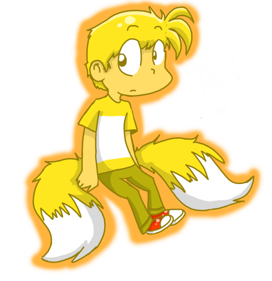 Tails in by raygirl. Human clipart yellow