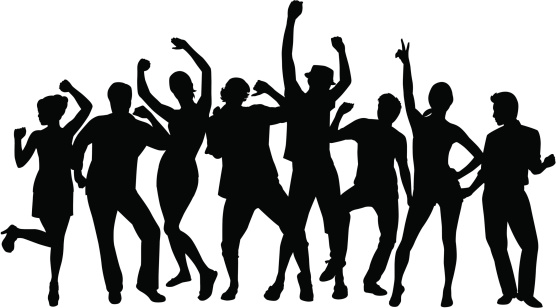 Party people free download. Humans clipart dancing