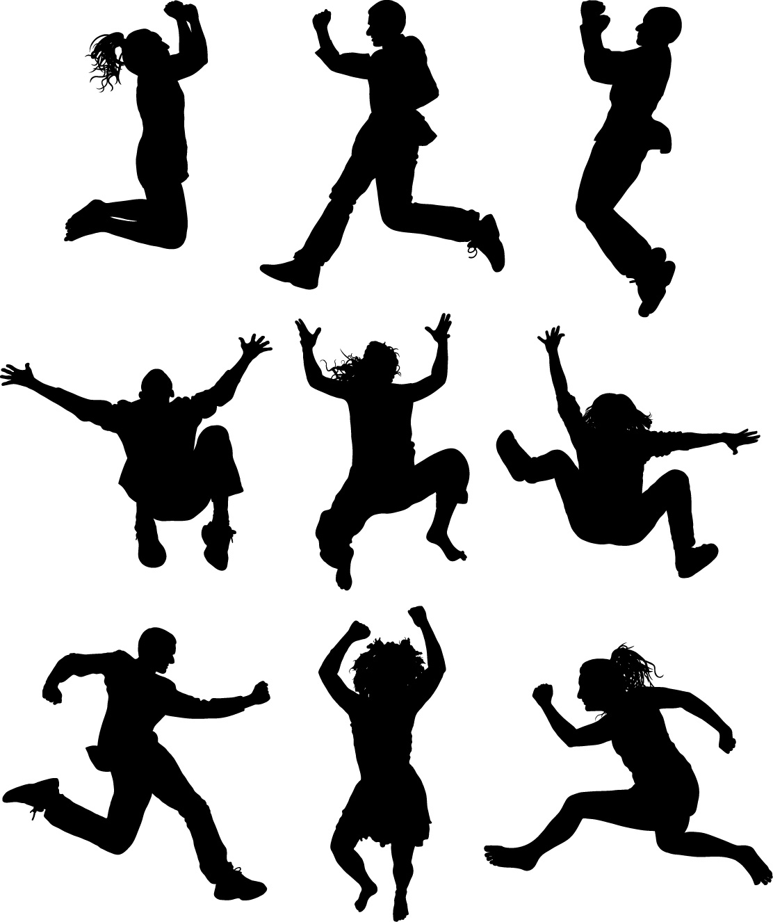 People free clip art. Humans clipart dancing