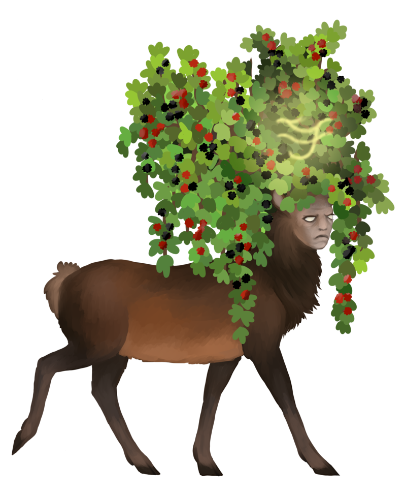 Tef deer the endless. Humans clipart demographics