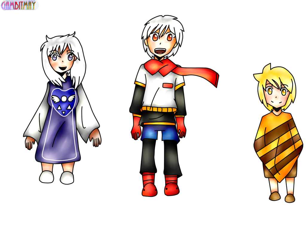 characters from undertale. Humans clipart human character
