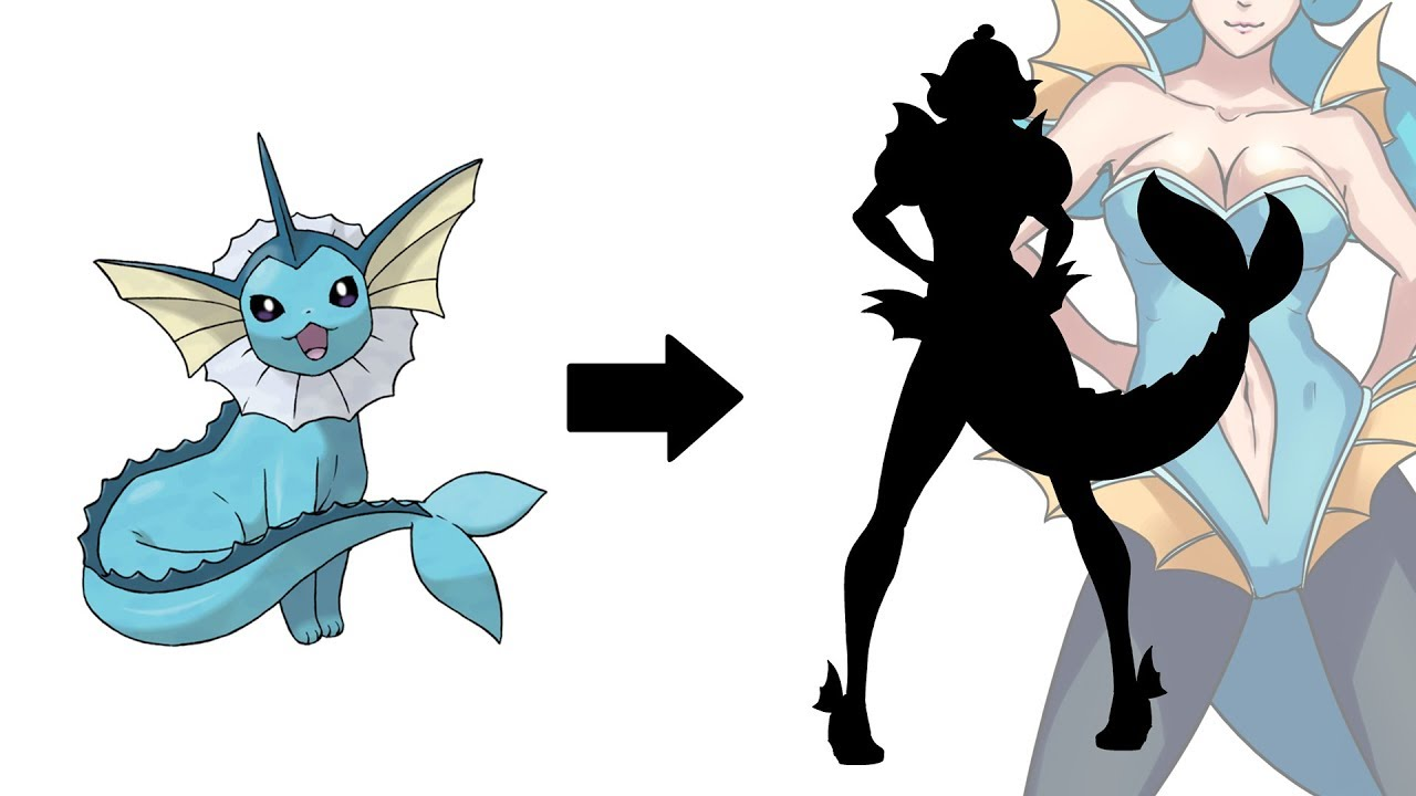 What if vaporeon was. Humans clipart human girl