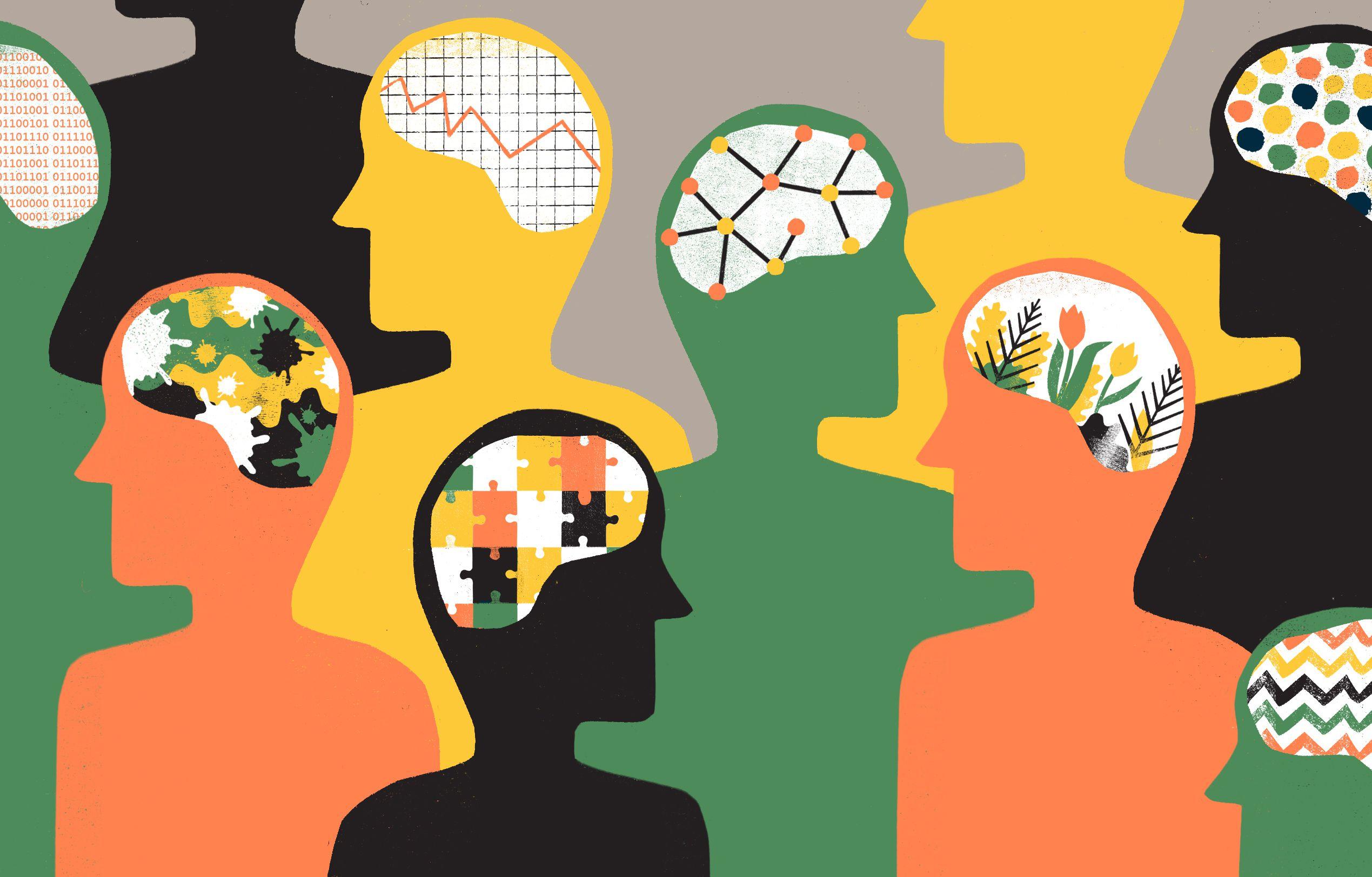 The major goals of. Psychology clipart mind control