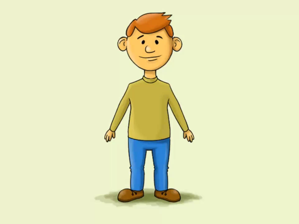 Humans clipart step. How to draw a
