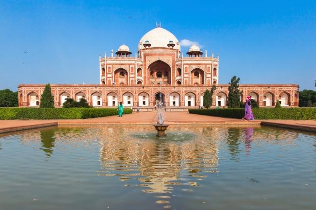 Humayun s delhi india. Humayun's Tomb Taj Mahal Pattern