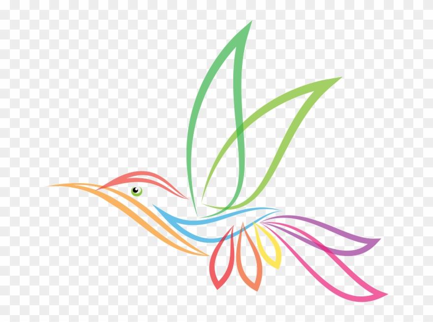 Hummingbird clipart abstract. Top notch gardening grass