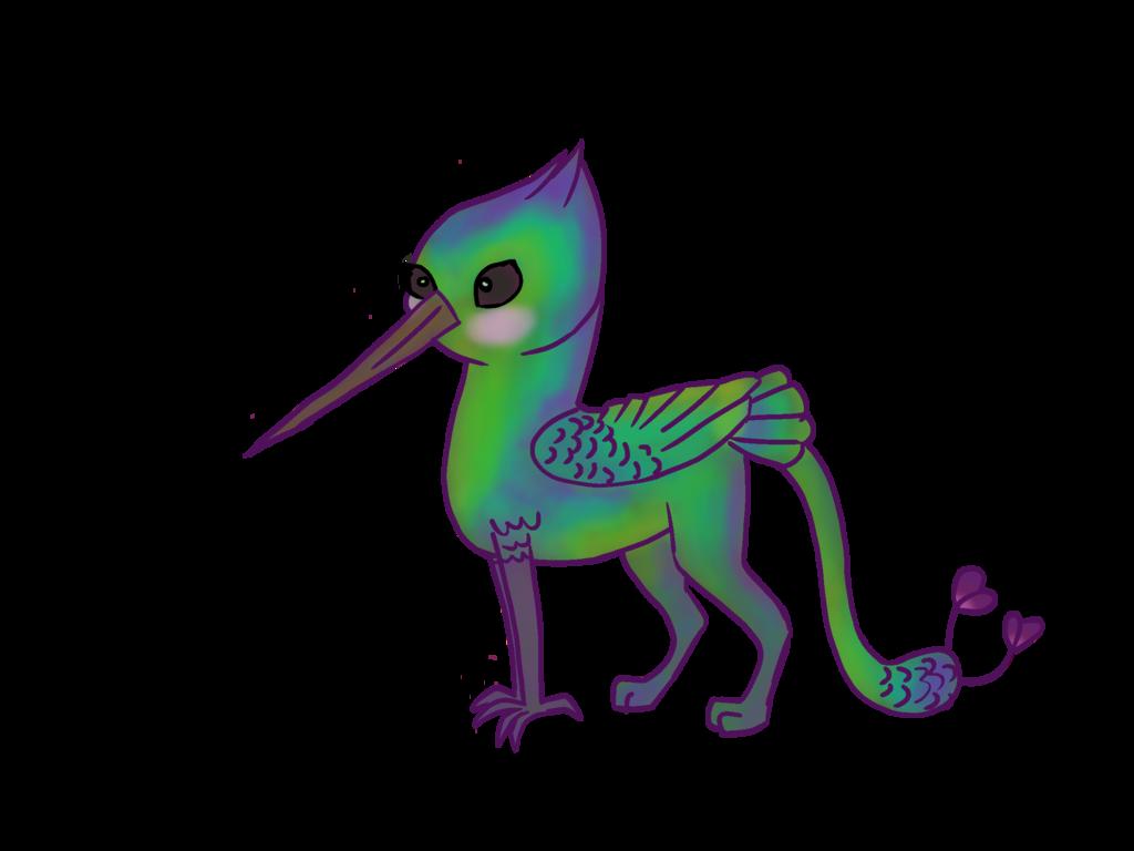 Griffin by animalpainter on. Hummingbird clipart baby hummingbird