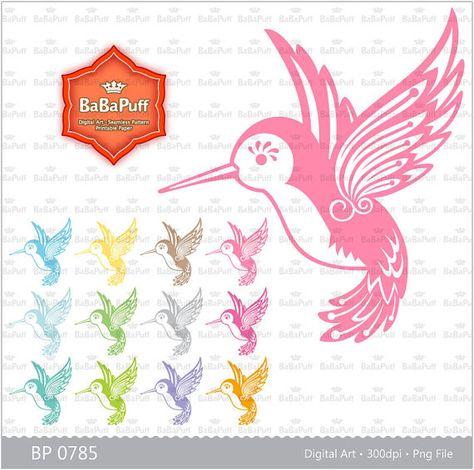 Hummingbird clipart baby hummingbird. Instant downloads clip art