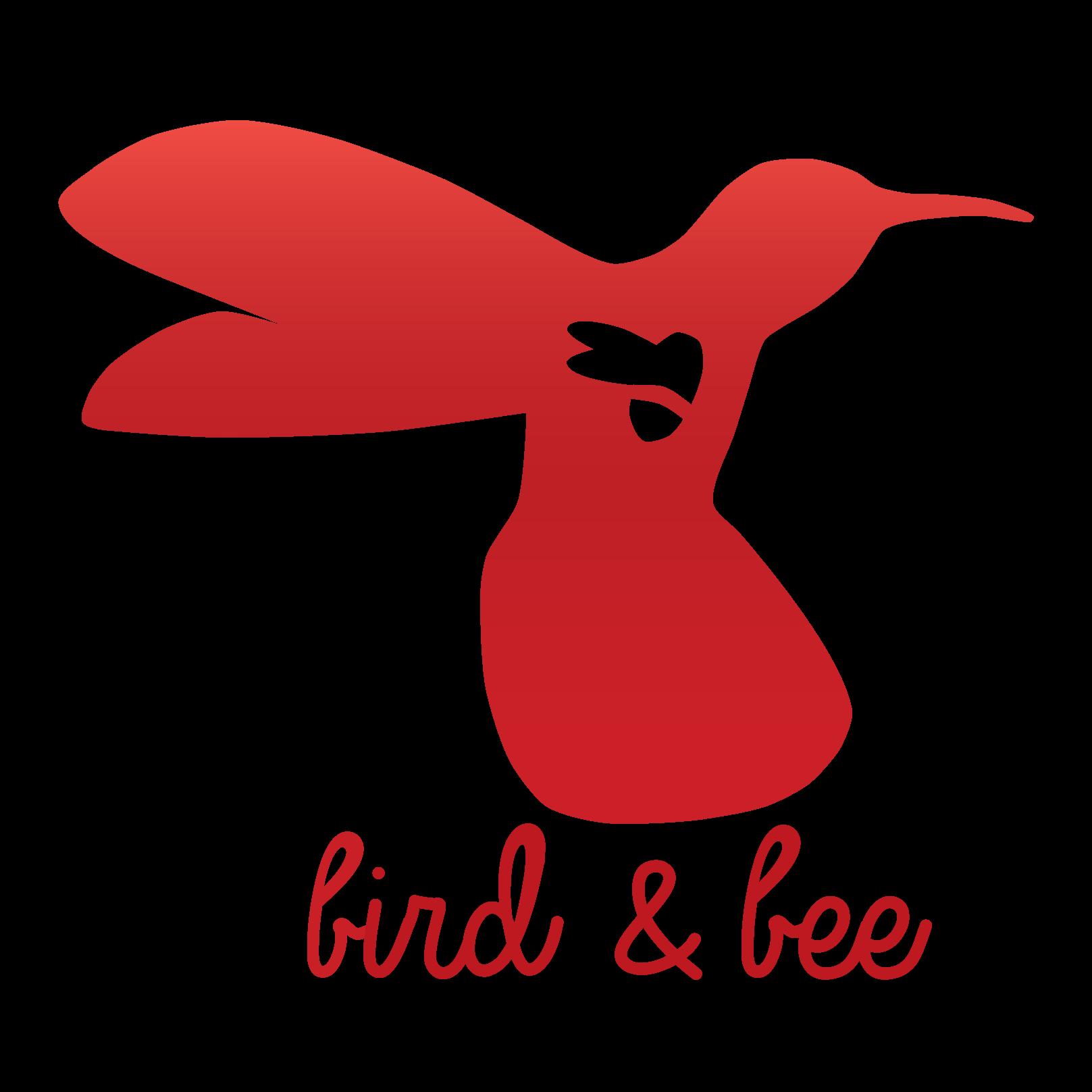hummingbird clipart bee