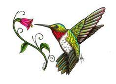 Hummingbirds . Hummingbird clipart hummingbird flower