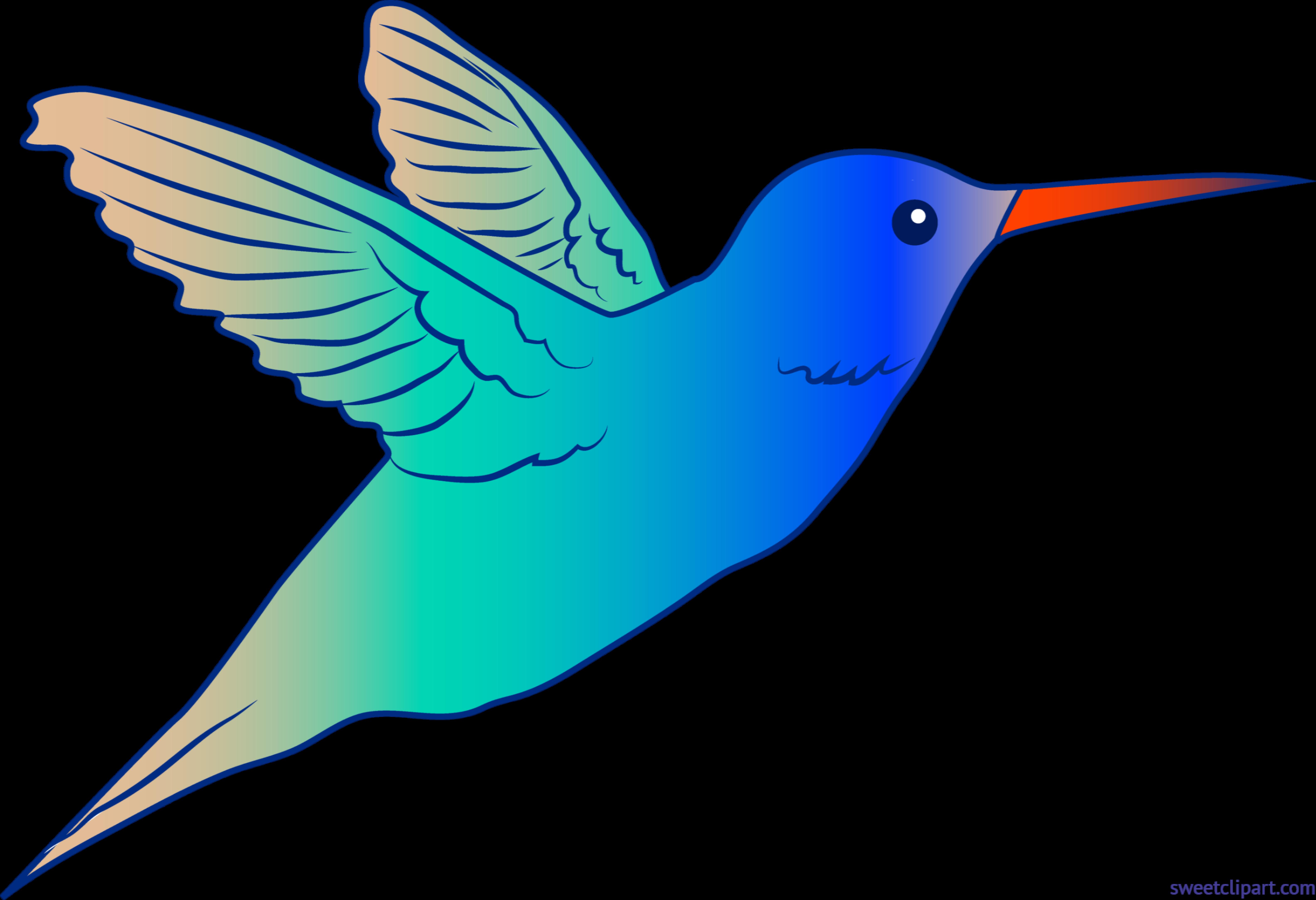 Clip art sweet. Hummingbird clipart real