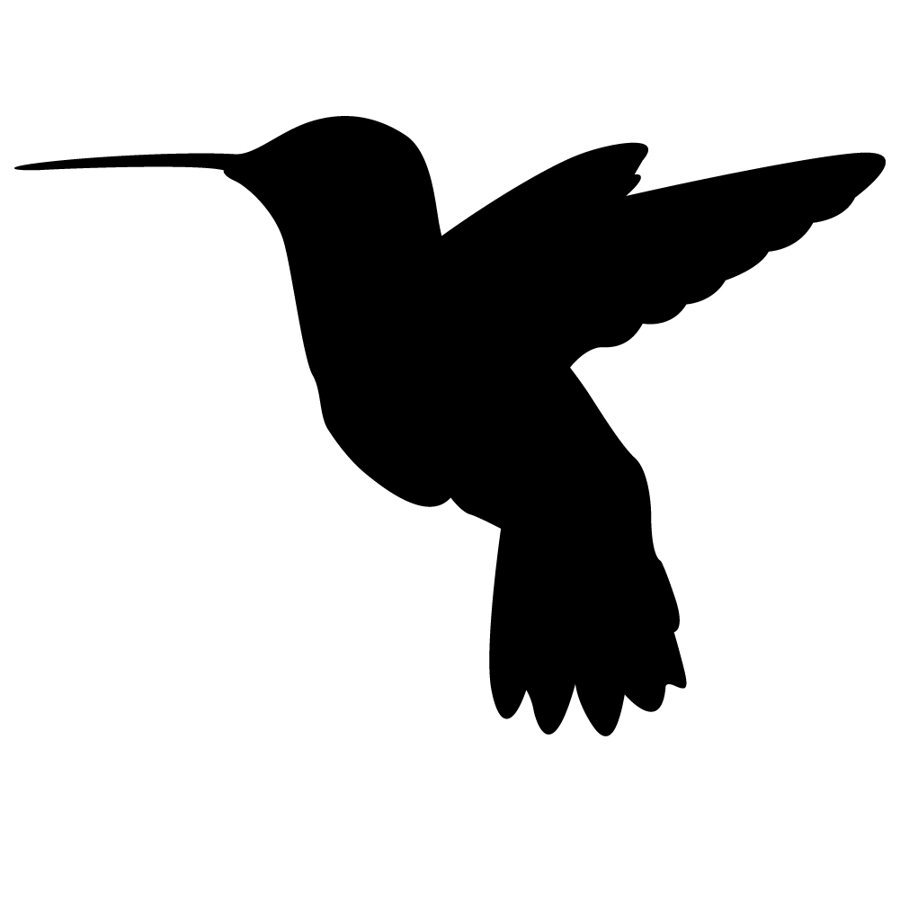 Free drawing download clip. Hummingbird clipart silhouette