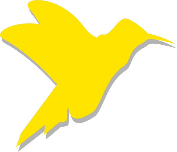 Hummingbird clipart silhouette. Clip art at clker