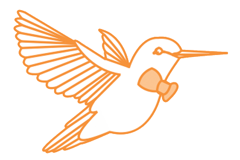 Hummingbird clipart simple.  steps to starting