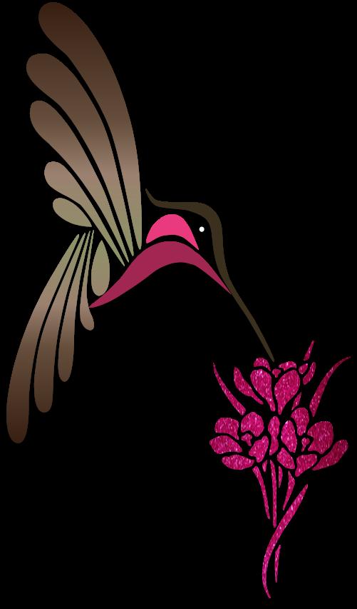Hummingbird clipart simple. Humming birds illustration art